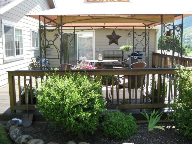 Gazebo Canopy Over Deck