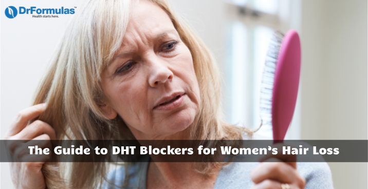 Dht Blockers For Women S Hair Loss Do They Work Female Pattern Hair Loss Androgenetic Alopecia Diffuse Thinning
