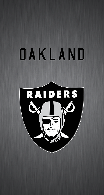 Apple iPhone 6 Wallpaper with Oakland Raiders Logo | HD Wallpapers