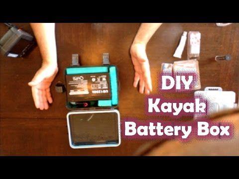 Kayak Fishing 101 12v Battery Box For Fish Finder Livewell