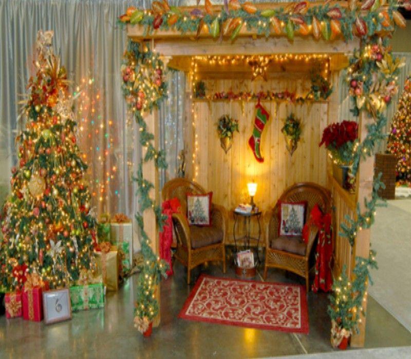 Decorate Your Pergola Gazebo On This Christmas Trees