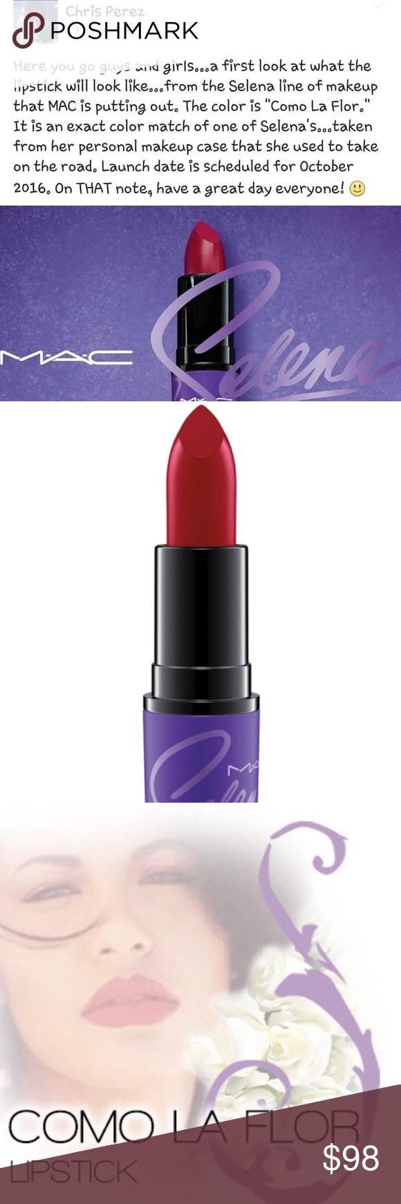 MAC Selena como la flor lipstick ltd. edition 💜 MAC Selena