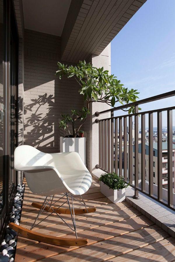 Balkon Klein Gastalten Moderne Ideen