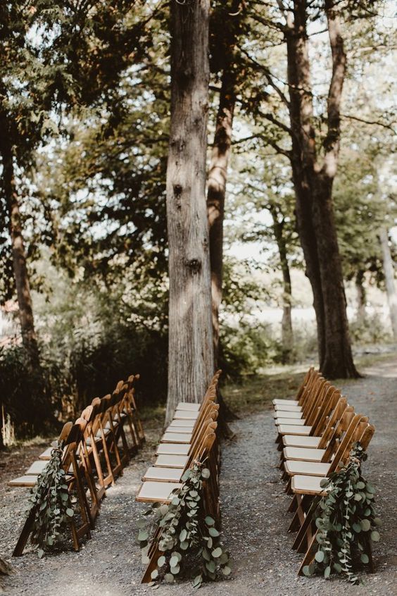 45 Beautiful Wedding Aisle Markers for Your Ceremony   Junebug Weddings is part of Wedding aisle outdoor - Whether you love florals, sweet signage, or natural greenery, these 45 wedding aisle markers will inspire you to add some wow factor to your ceremony decor