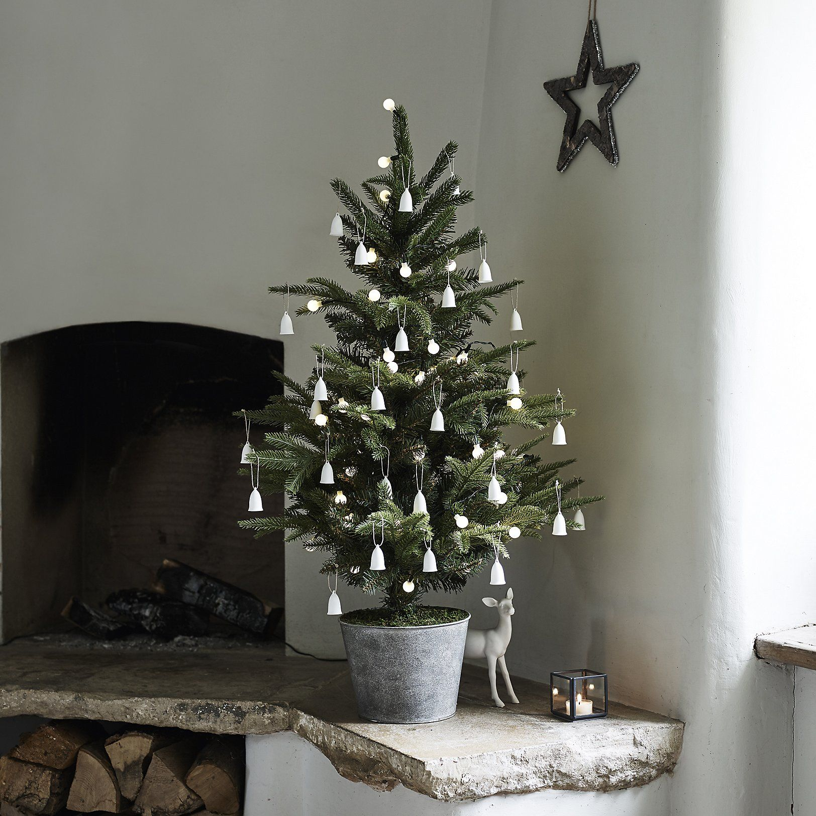 Potted Spruce Christmas Tree 3ft The White Company UK