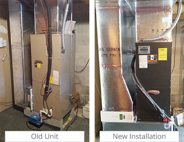 Pin On Vertical Air Handlers Before And After