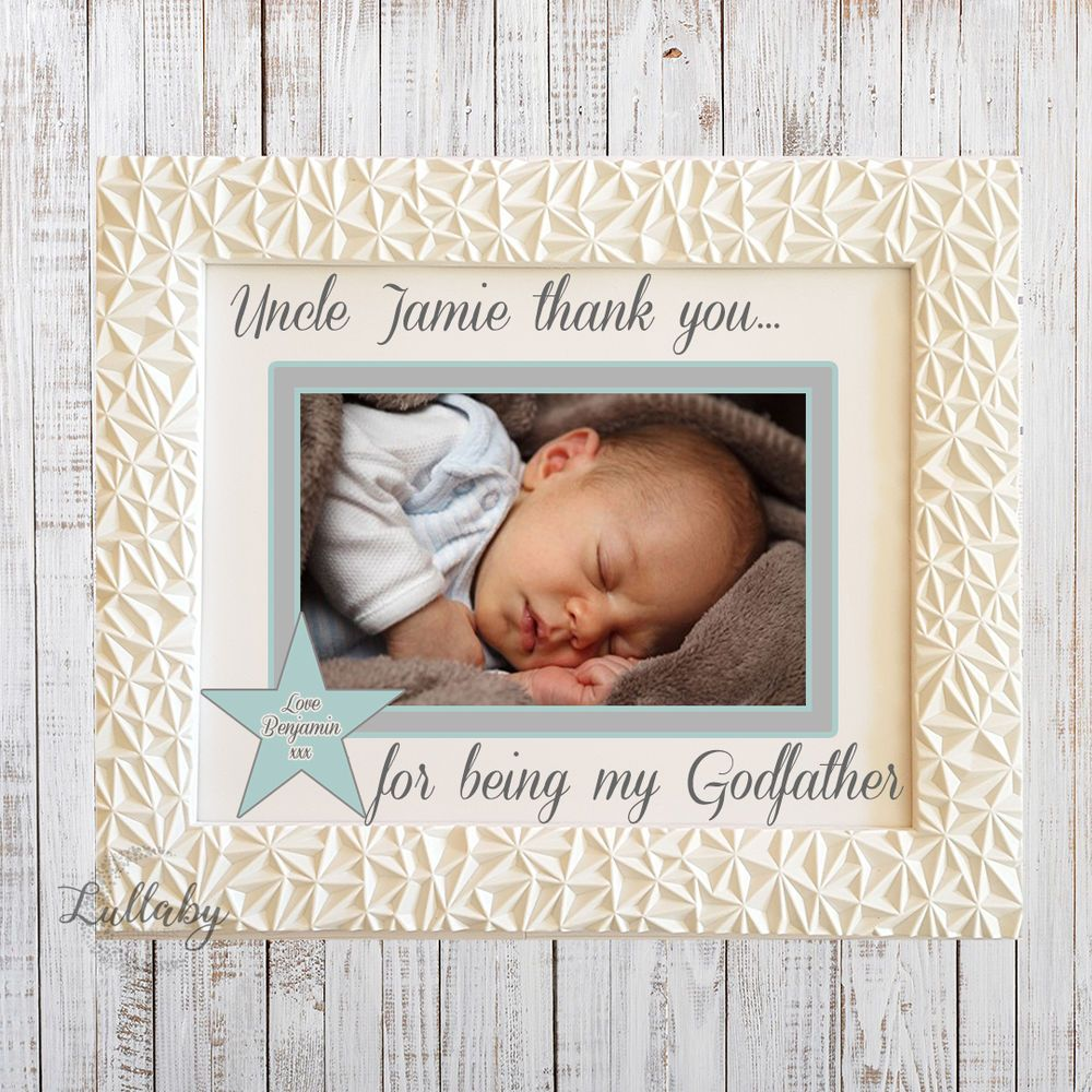 Personalised godparent godfather godmother thank you frame gift personalised godparent godfather godmother thank you frame gift jeuxipadfo Image collections