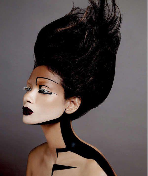 Futuristic makeup                                                       …