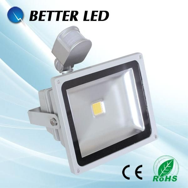 Pir Flood Light Bridgelux Cob Led Flood Lamp 30w With Ce And Rohs From China Manufacturer Manufactory Factory And Supplier On Led Flood Flood Lights Led Flood Lights