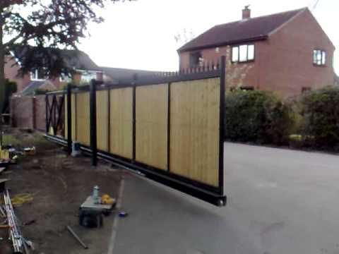 Electronic Security Gate Installed By Securesys Call Today To