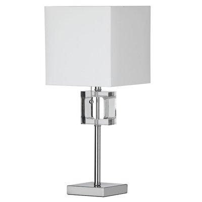 Willa Arlo Interiors Deston 20 5 Table Lamp Reviews Wayfair Crystal Table Lamps Chrome Lamp Buffet Table Lamps