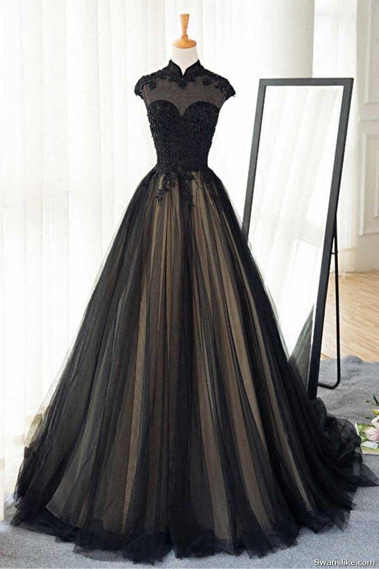 Long prom dress lace prom dress sexy prom dress straps prom dress