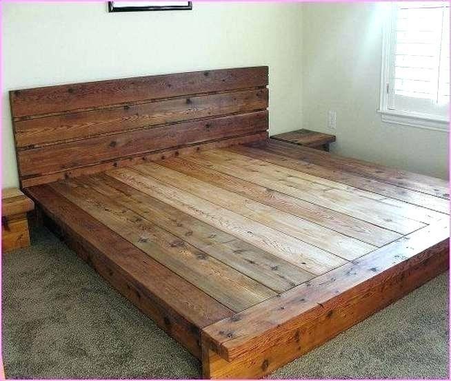 King Size Platform Bed Diy Diy King Bed Frame King Platform Bed Frame Bed Frame Plans
