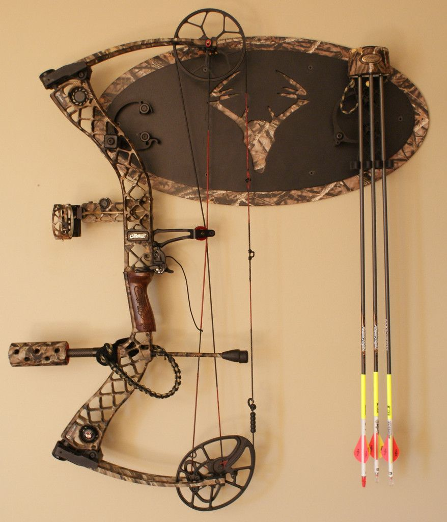 HD Rack - Lost Camo #bow-holder #lost-camo #wall-mounted | man cave ...