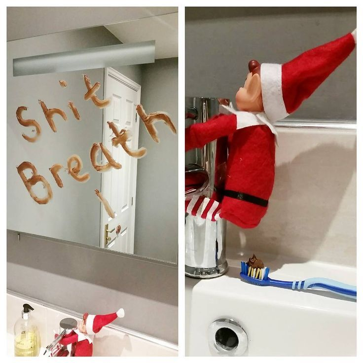 (INSTAGRAM) 'Husband not happy' Adult Elf On The Shelf Ideas | Naughty E...