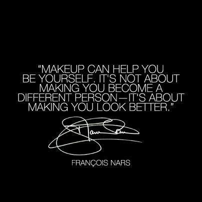 Today's beauty wisdom from Nars Cosmetics
