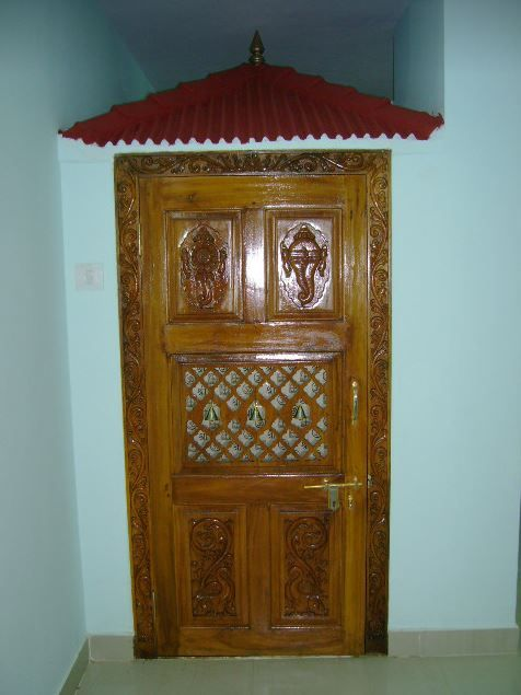 Attractive Pooja Room Door Designs Part 7