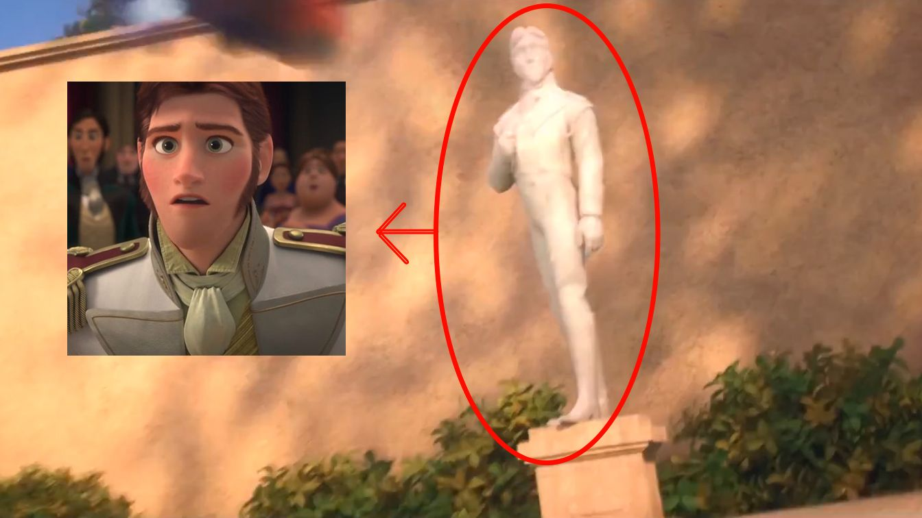 Easter Eggs in 'Big Hero 6′ Trailer^^^^Idk what big hero 6 is but I know who Hans is, and that's cool.
