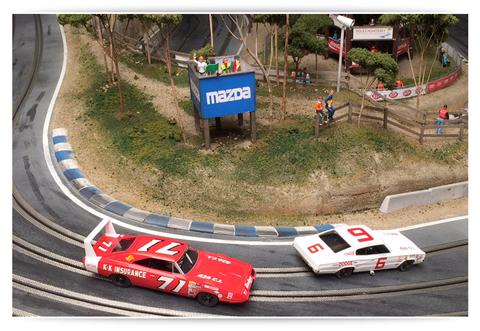 Vernola Raceway Slot Mods Raceways Slot Car Tracks Slot Cars Slot