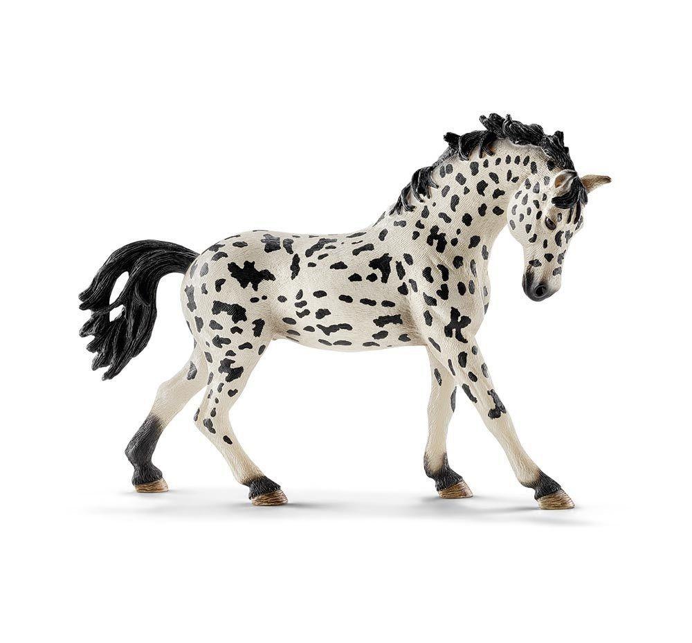 schwarz wei es pferd schleich pferde schleich pferde pferde und spielzeug. Black Bedroom Furniture Sets. Home Design Ideas