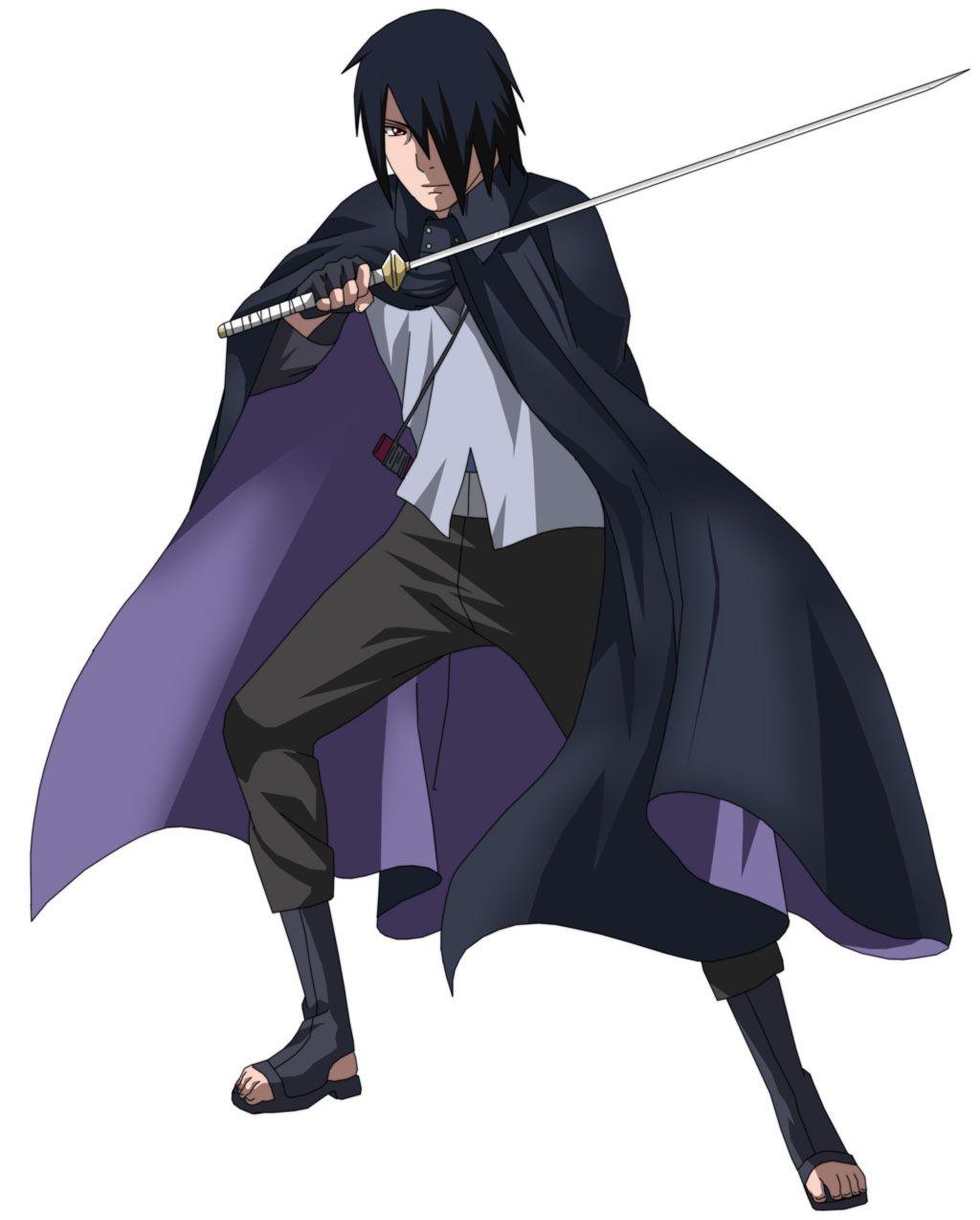 What Is The Name Of Uchiha Sasuke Sword Gambar Karakter Gambar Anime Kartun
