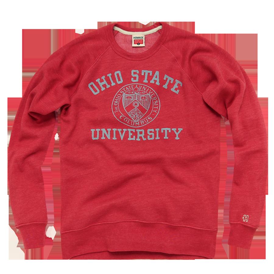 The Ohio State University Apparel Ohio State Buckeyes Shirts Ohio State Retro Sweatshirts Buckeyes Shirt