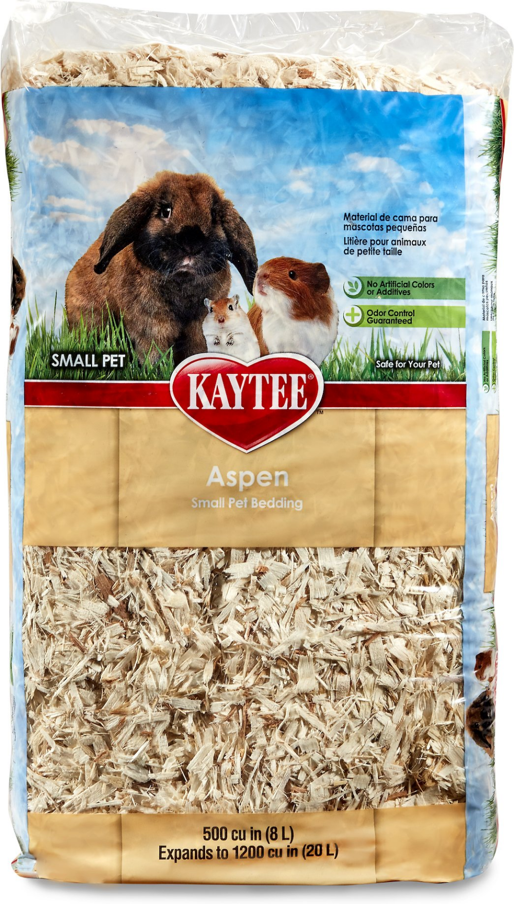 Kaytee Aspen Small Animal Bedding, 113L (With