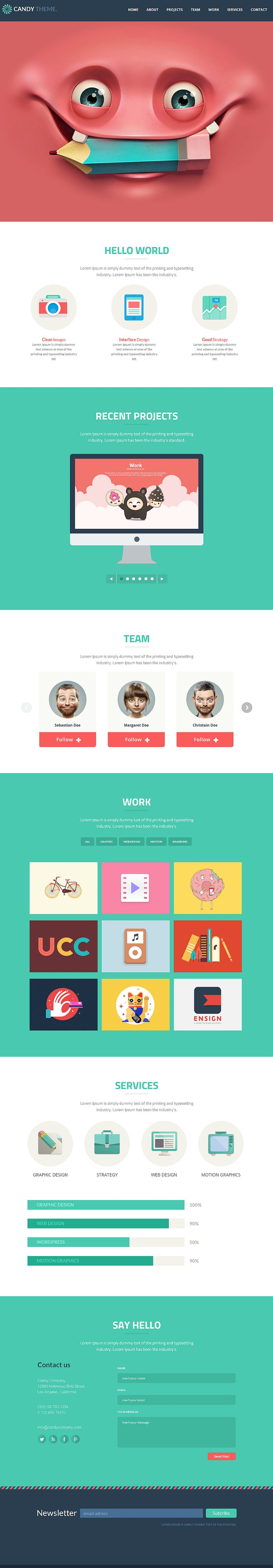 25 Flat Design Inspiration For Designers Designbump Web Design Game Design Tendances Web
