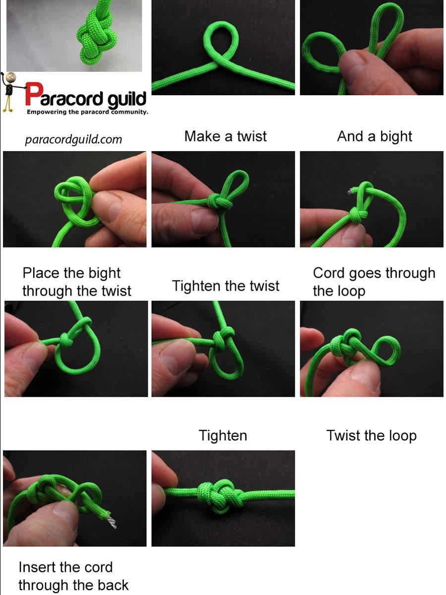 Learn how to tie an eternity knot. It is a beautiful ...