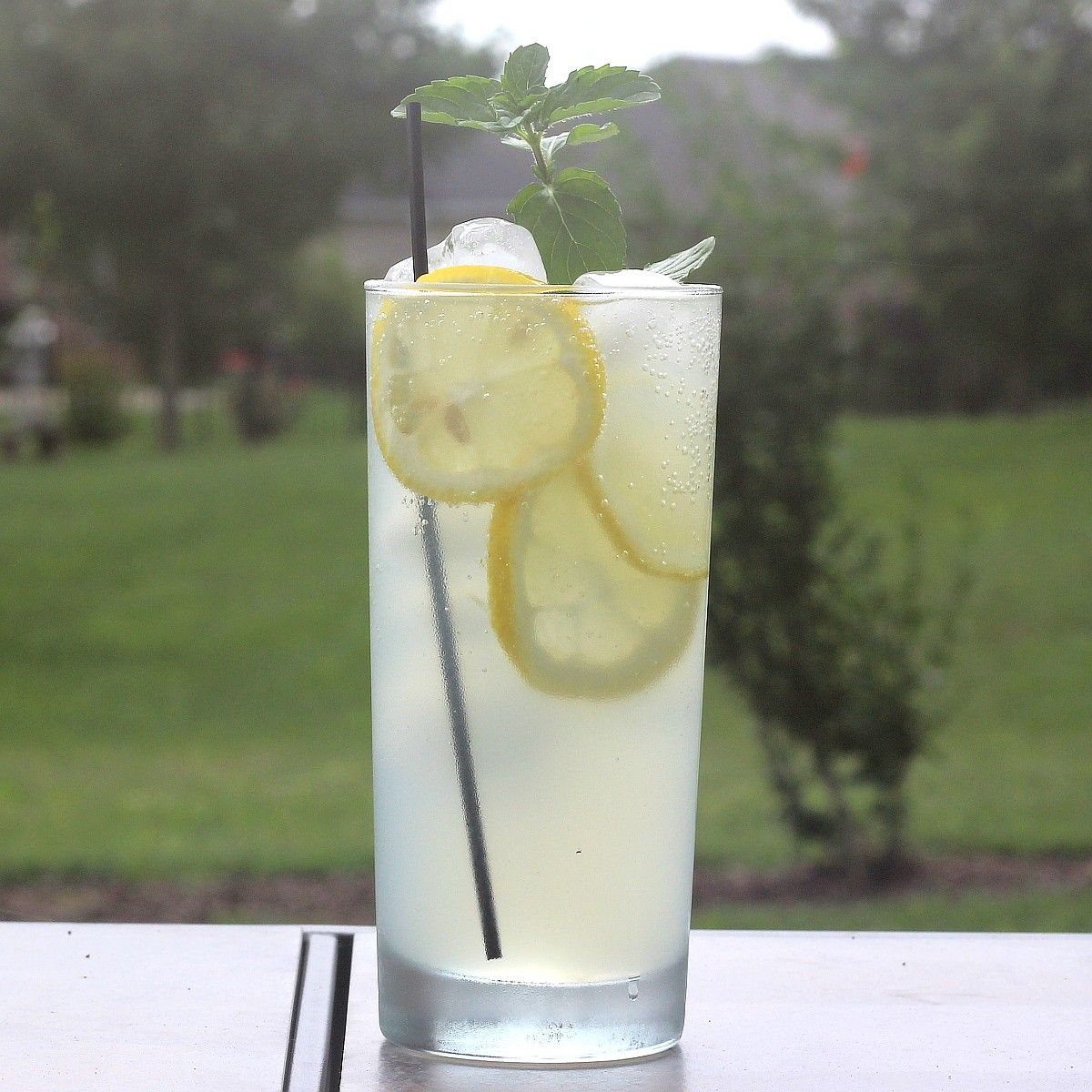 The Limoncello Collins Drink Recipe, Featuring Limoncello