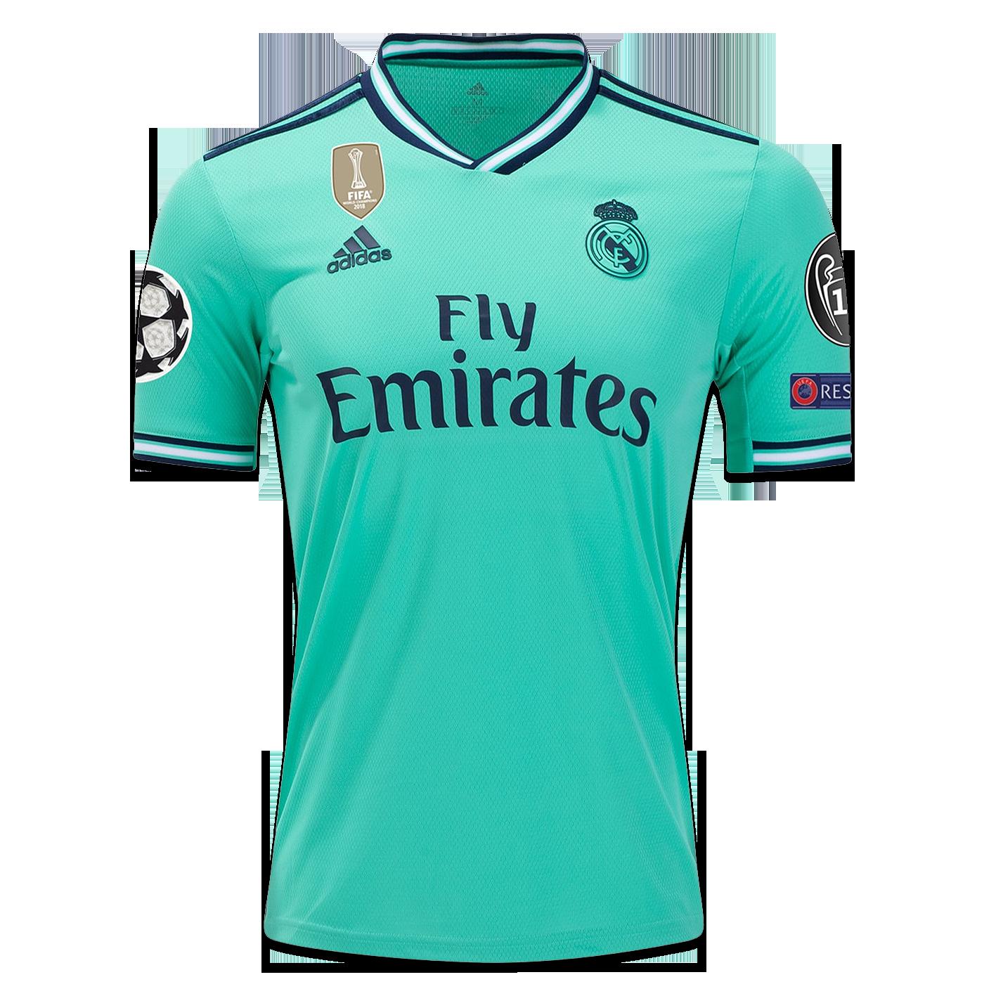 Real Madrid 2019 20 Jersey Third Futbol Femenino Camisa De Fútbol Futbol Europeo