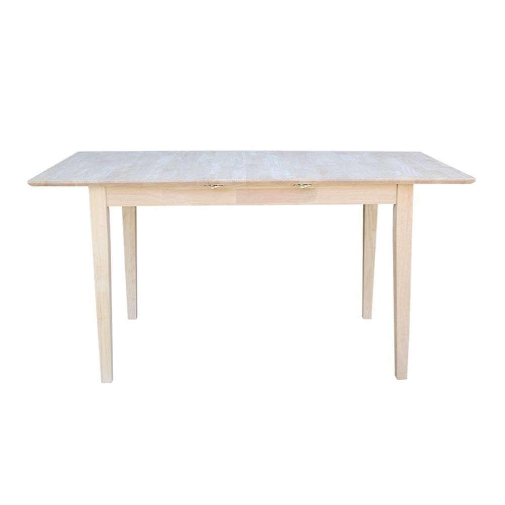 Superbe International Concepts Unfinished Dining Table K T32X 30S   The Home Depot
