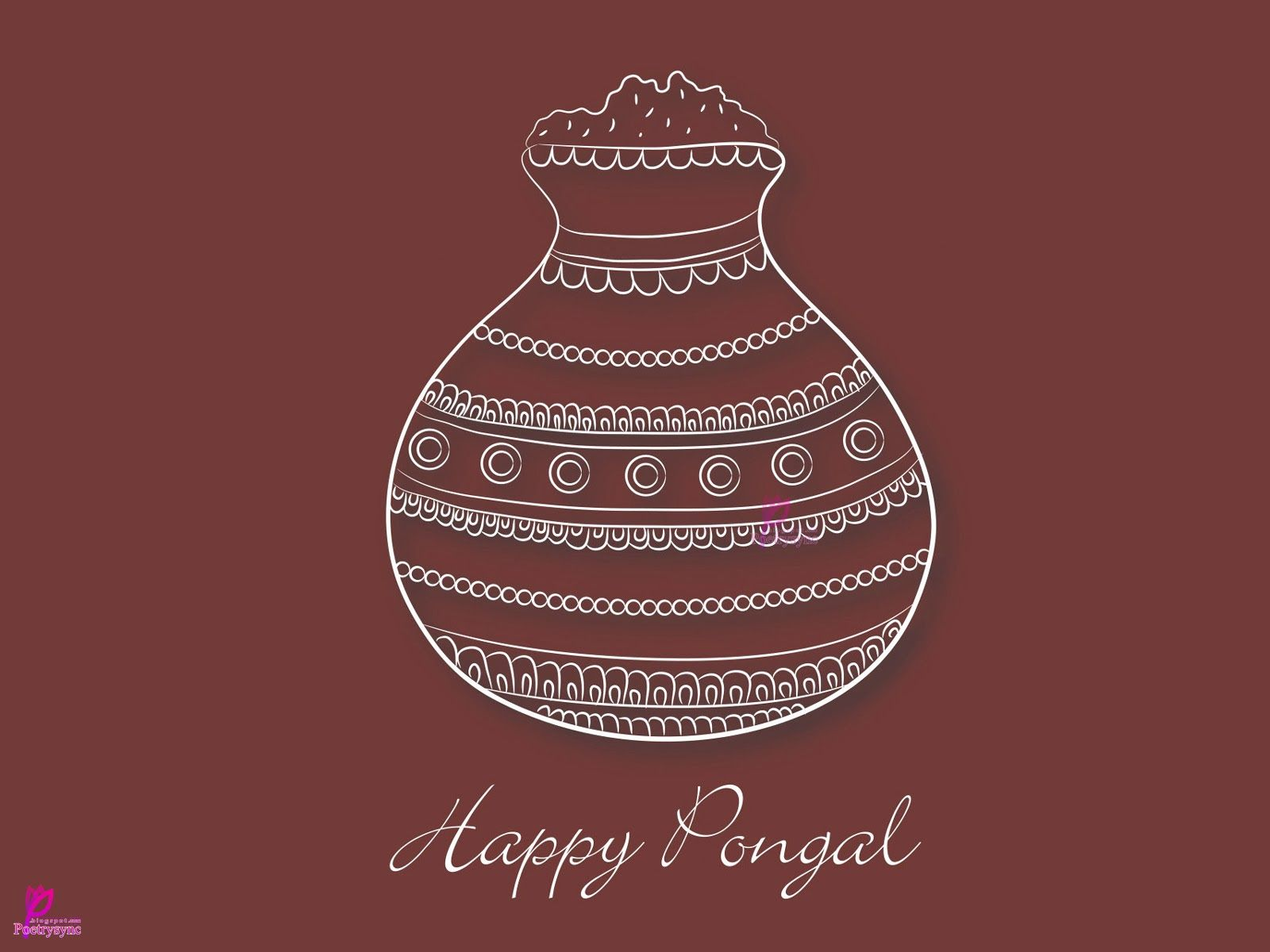 Pongal Is Festival Of Harvest Pongal Wishes Picture Pongal Greetings