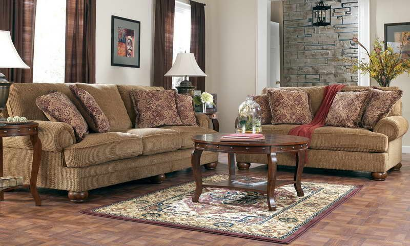 Ashley Furniture Millennium Collection With Wood Table Round Myfavorite