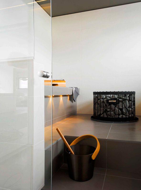 Cool sauna design  Saunen zum Trumen  Sauna room