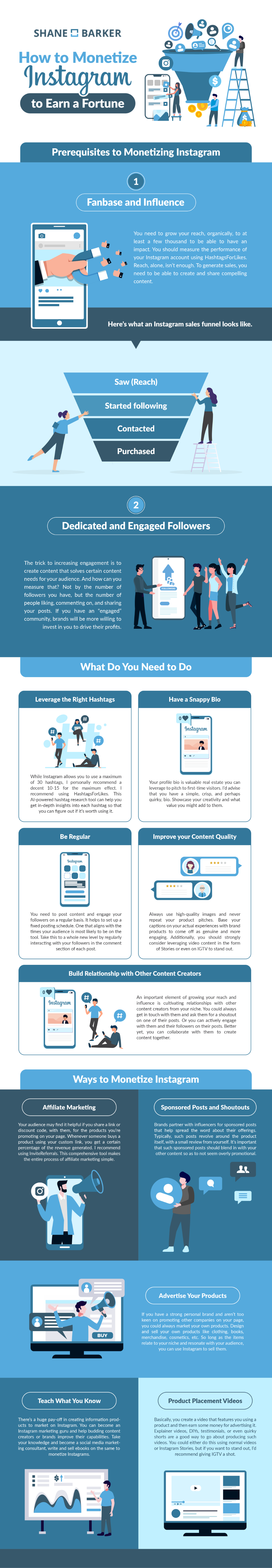 The 5 Most Popular Ways To Make Money On Instagram In 2020 Monetizing Instagram Instagram Infographic Infographic
