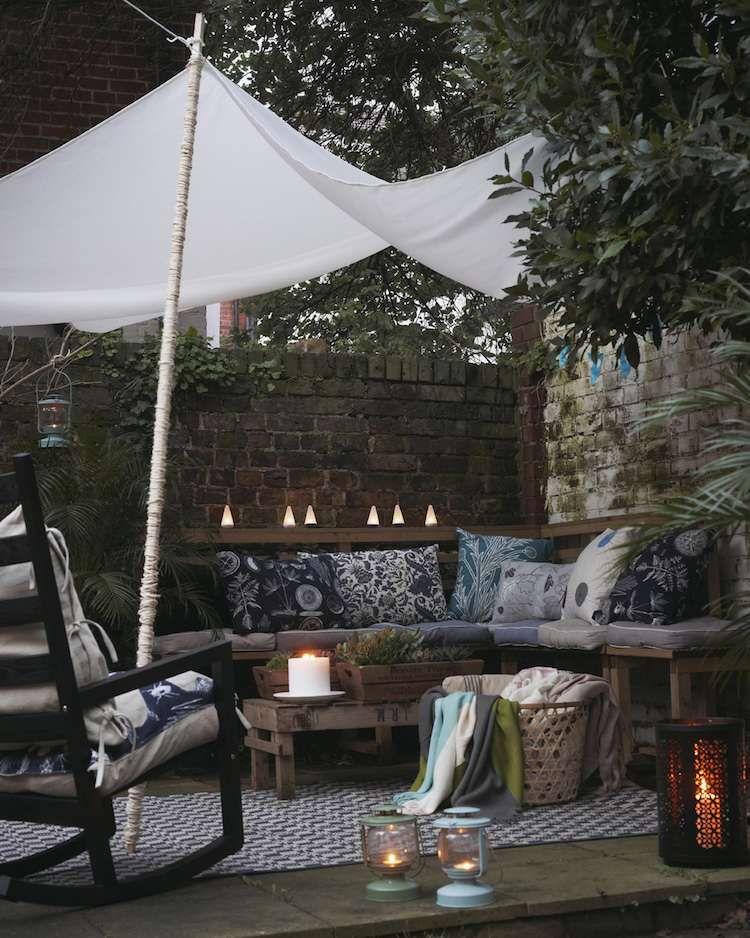 am nager une petite terrasse de r ve dans l 39 arri re cour et la bien d corer zen en plein air. Black Bedroom Furniture Sets. Home Design Ideas