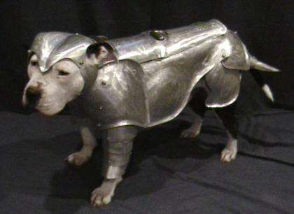 Pitbull Armory Makes Heavy Metal Protection For Your Bff Dogs Trendhunter