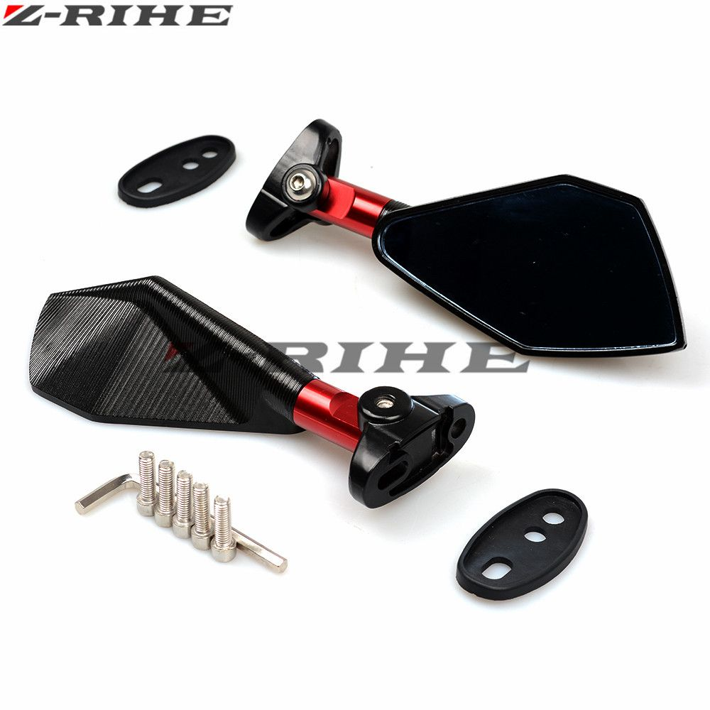promo rearview mirrors for suzuki gsx s1000 gsxs1000 gladius gsr 400