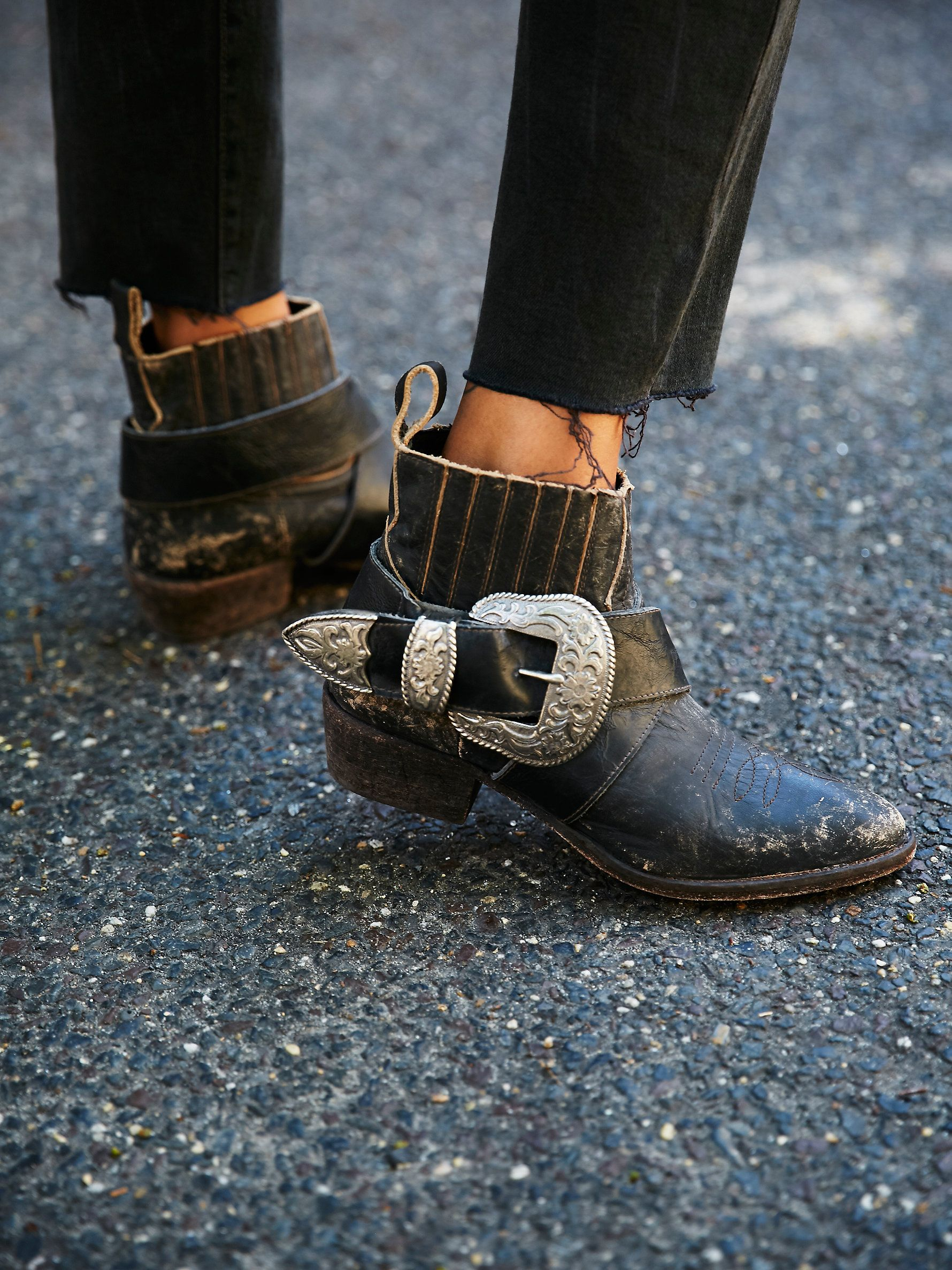 Understated Leather X Matisse Understated Biker Boot at Free People Clothing Boutique