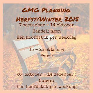 Good Morning Girls NEDERLAND: Planning voor de komende maanden.