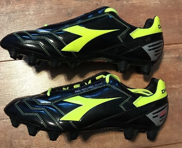 fb638089 Diadora DD Solano Plus GX14 Soccer Cleats Shoes Size 10 US Black ...
