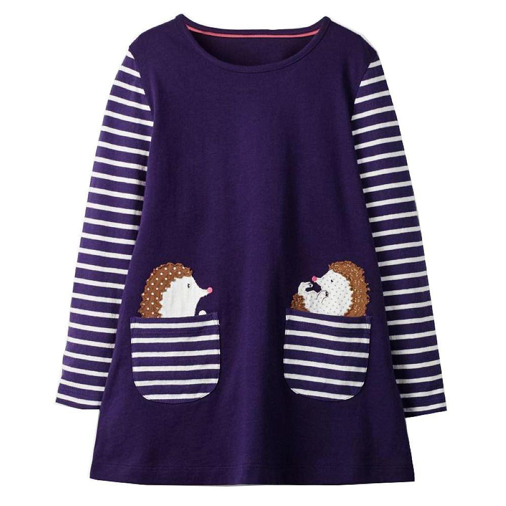 Langarm-Kleid für Mädchen (mit Bildern)   Kleinkind ...