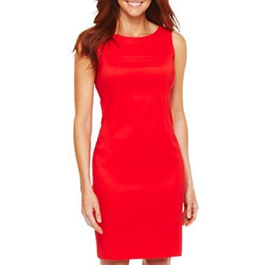 Alyx 174 Solid Sheath Dress Jcpenney Great Simple Look