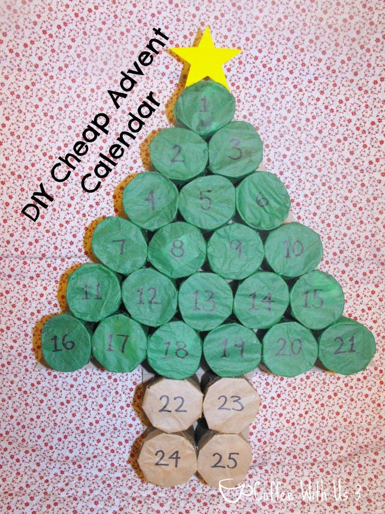 Diy Cheap Advent Calendar Diy Advent Calendar Christmas Tree Advent Calendar Advent Calendars For Kids