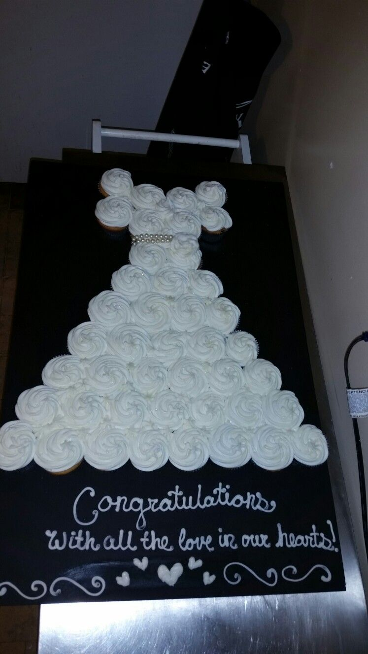 Wedding dress cake I made for my sister-in-law. Who is getting ...