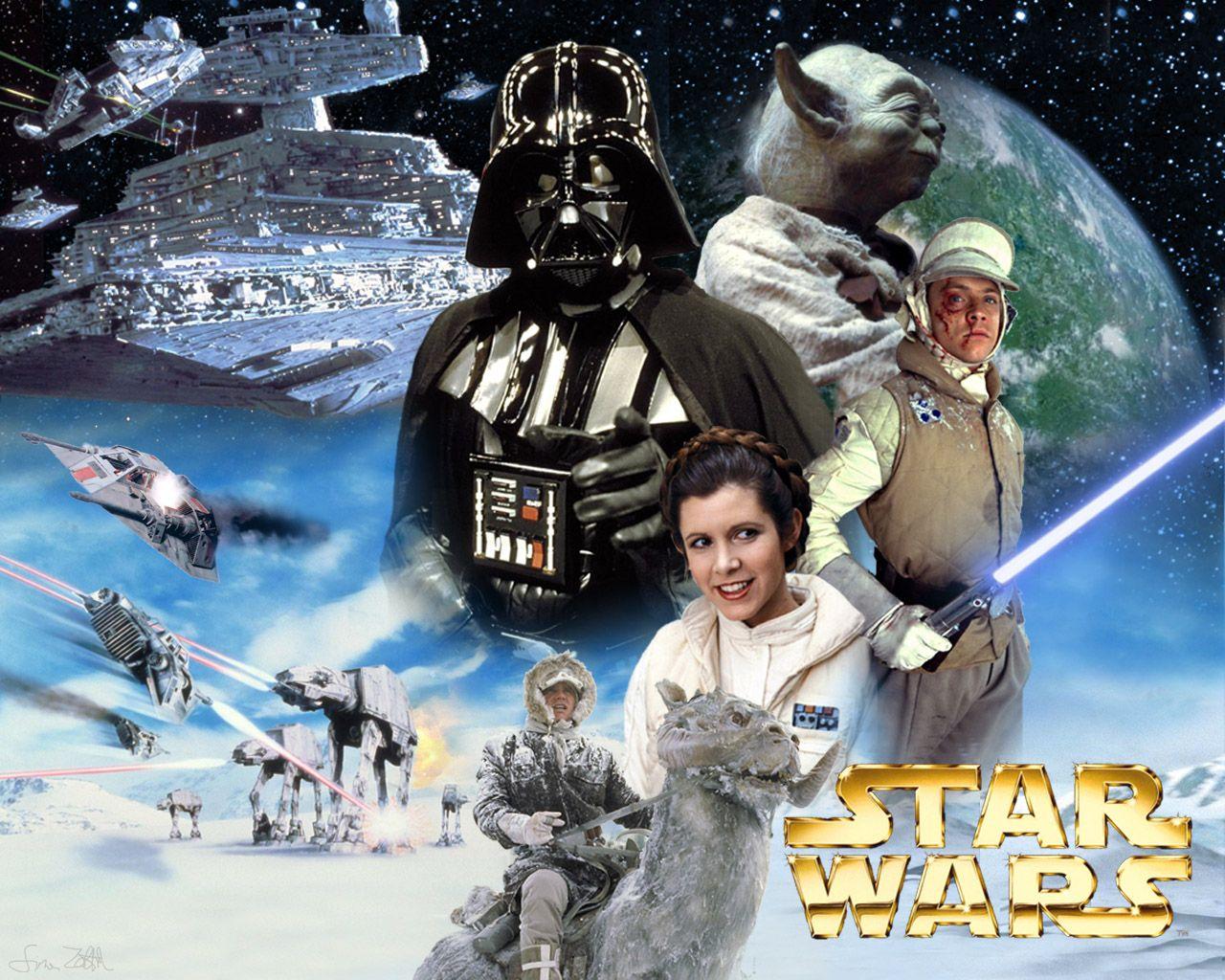 The Empire Strikes Back Star Wars Website Star Wars Wallpaper Star Wars