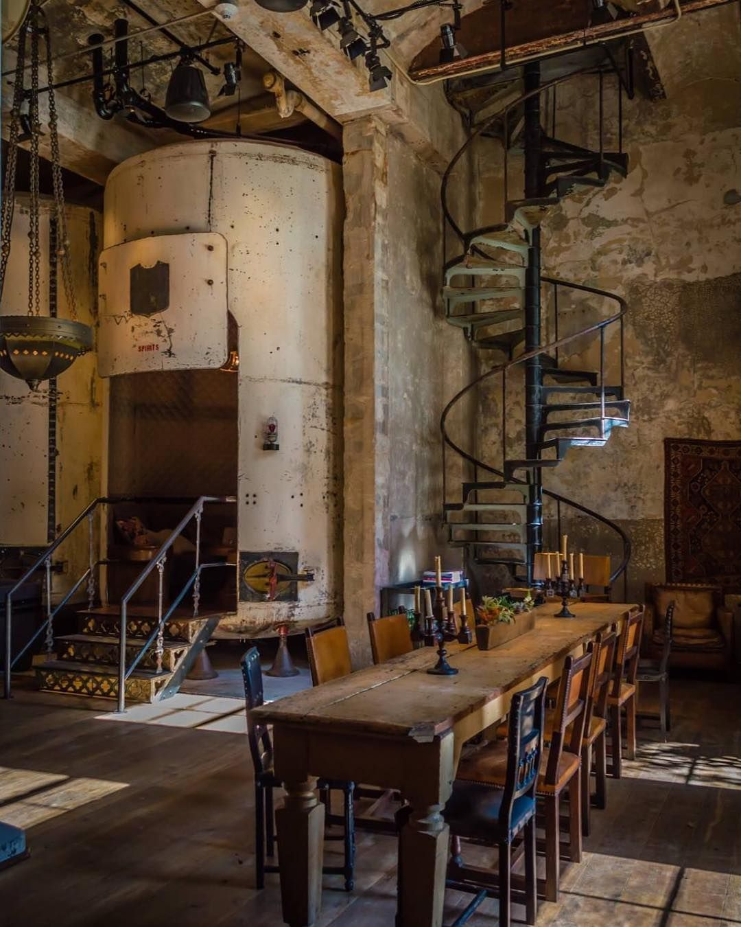 "Visit San Antonio on Instagram: ""Cozy up at @thehotelemma, occupying the @historicpearl's old #brewhouse. Culinary options include Sternewirth bar, Supper and @larderatemma…"""