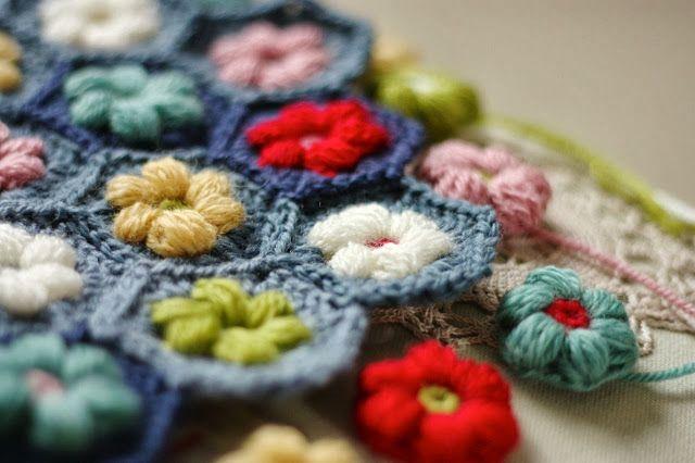 Cherry Heart: Daisy Puffagons | Allies fav crochet | Pinterest ...
