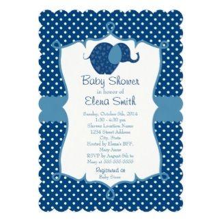 Polka Dots, a cute baby shower invitation #polkadots #babyshower